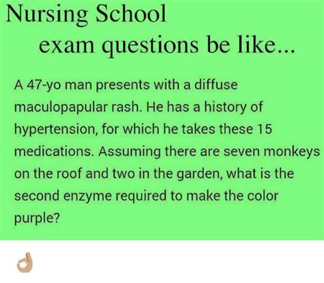 nursing school test assume memes of 2017 on sizzle straightforward