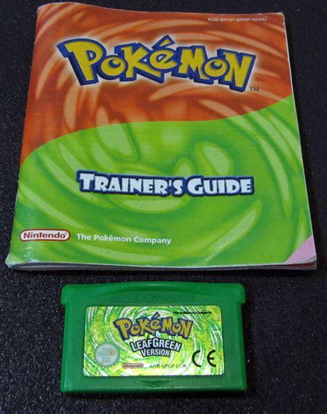 Gba Leaf Green pok 233 mon leaf green boy advance seminovo play n play