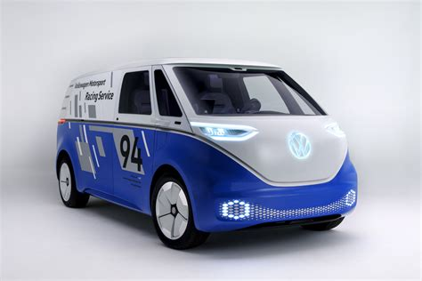Volkswagen Buzz 2020 by Vw Id Buzz Cargo Concept To Debut At 2018 La Auto Show
