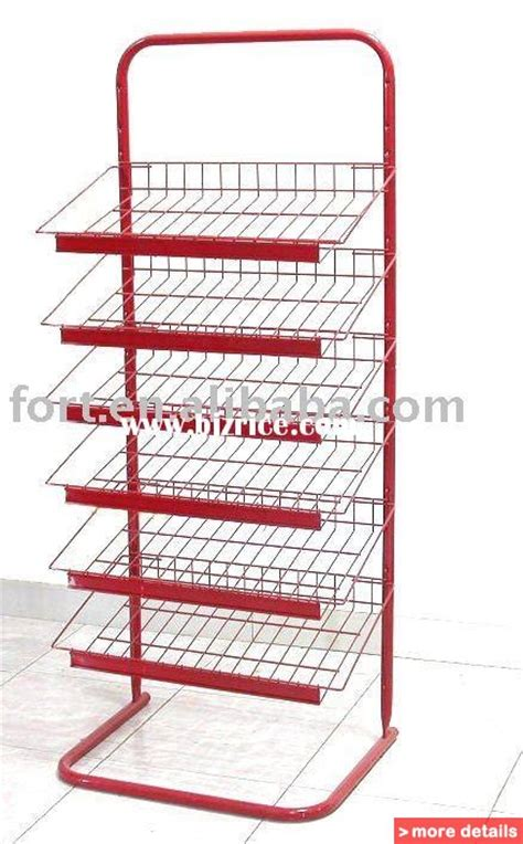 rolling metal retail food display table w casters china