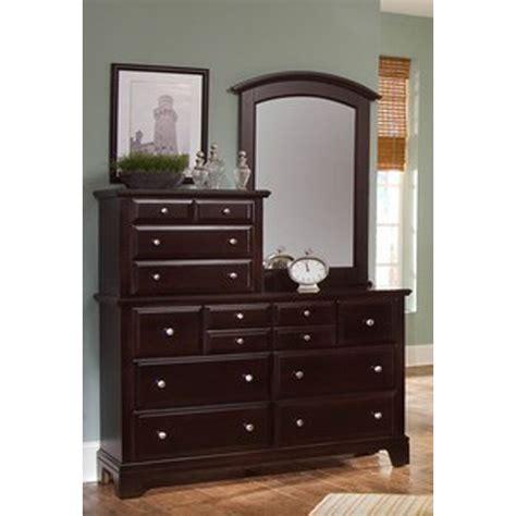 Vanity Mirror Dresser by Vaughan Bassett Barnburner Four 443 Hamilton Franklin