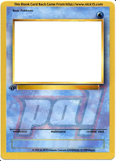 Making Your Own Pokemon Card - pokemon make your own card image search results