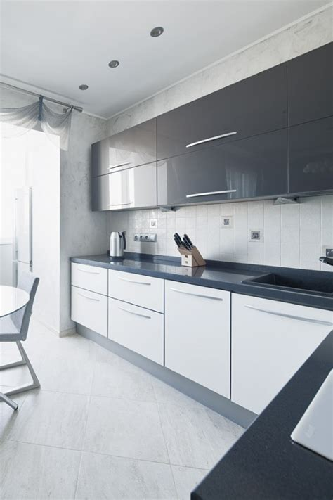 Grey And White L 33 Neutral Kitchen Designs You Ll Digsdigs Rs Res