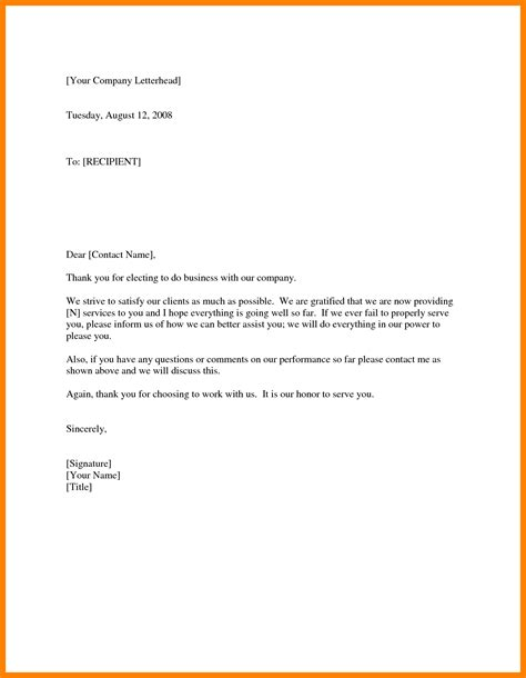 thank you letter from business to client 10 thank you card for client rn cover letter