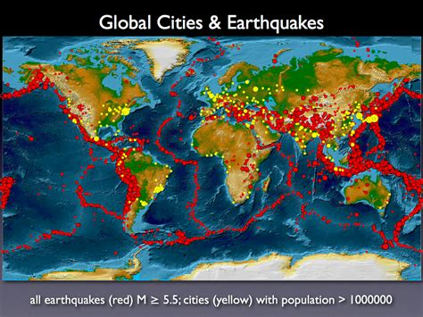 earthquake zones in the world what to do during an earthquake