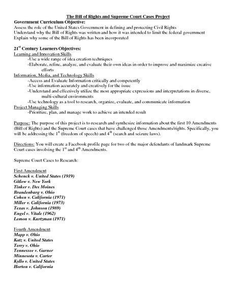 Landmark Us Supreme Court Decisions Worksheet by Worksheets Landmark Supreme Court Cases Worksheet