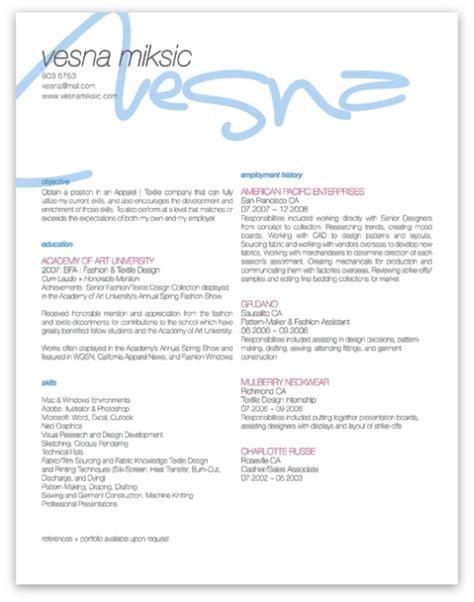 resume stuff