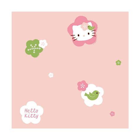 Buku Tulis Hk Sanrio 18x25 jual new sanrio world motif hello kt105 wallpaper dekorasi kamar harga kualitas