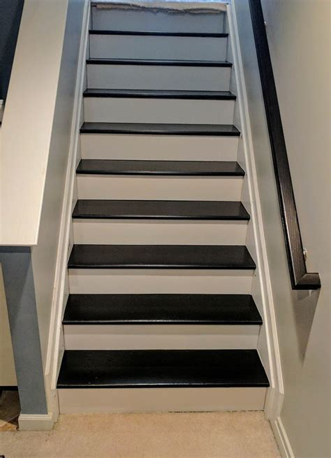 staircase revitalized  java gel stain general