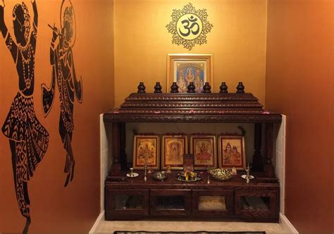 home mandir decoration ideas 15 pooja room designs in hall pooja room and rangoli designs