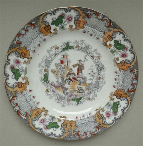 decorative plates china plate with decorative design of shepherd and temple
