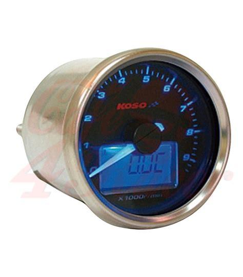 Koso Gpii Style Meter Rpm Blue Backlight Speedometer Mini koso gp style d55