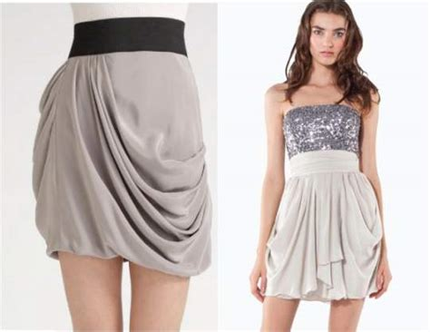 Two Side Draped Skirt all about skirts its shapes and types it suits the most