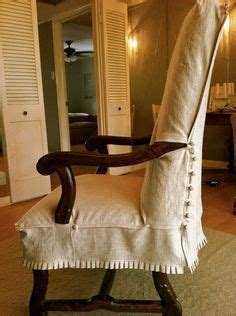 slipcovers for chairs with wooden arms 1000 images about ideas for slipcovers on