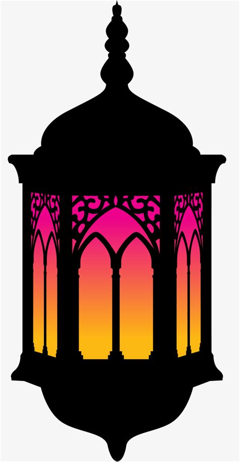 Islamic Home Decorations by Vector Islamic Decorative Lamp Material Vector Diagram