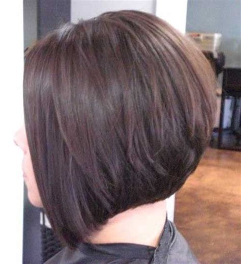 layered bob hairstyle back view 15 best back view of bob haircuts short hairstyles 2017