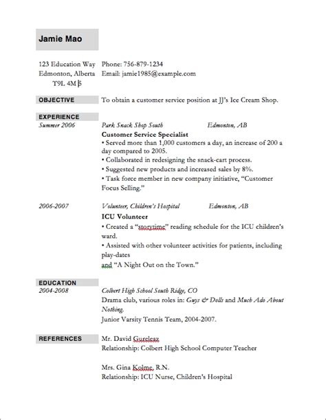 top 10 resume templates top 10 resume sles best resume gallery