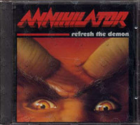 Cd Annihilator annihilator refresh the album cd records