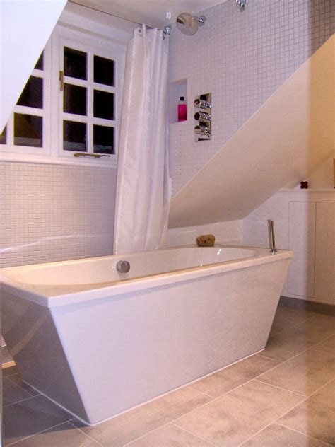 free standing shower bath free standing bath and dormer shower bathroomslondon bathrooms