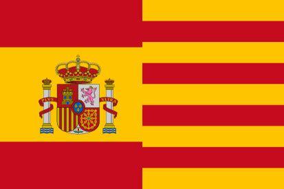 espaa y catalua comprar bandera espa 241 a con escudo y catalu 241 a comprarbanderas es