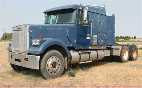 volvo white truck 1988 volvo white gmc wil semi truck item c2765 sold