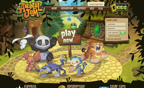 animal jam national geographic s web based animal