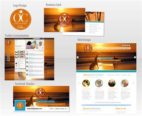 Oc Event Solutions Branding Package Turboecart Ecommerce Website Design Development Branding Package Template