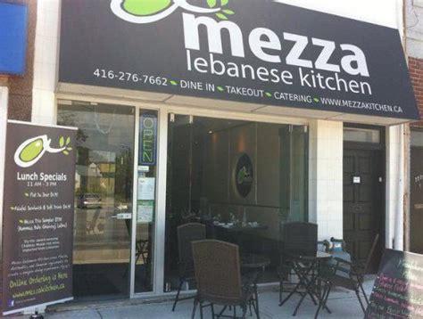 mezza lebanese kitchen toronto menu prices
