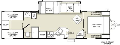 fleetwood travel trailers floor plans 2007 fleetwood terry travel trailer rvweb com