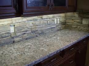 Stone Backsplash Ideas For Kitchen Kitchen Backsplash Natural Stone Home Design Ideas