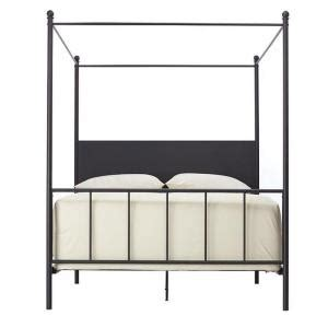 home depot bed home decorators collection cove black king size canopy bed