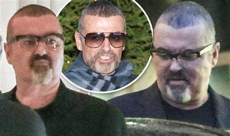 george michael s george michael raises concerns with bloated appearance