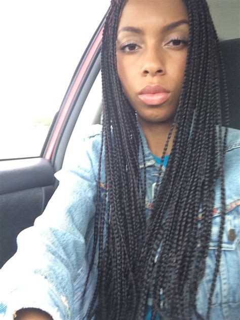 long medium box braids long medium box braids short hairstyle 2013