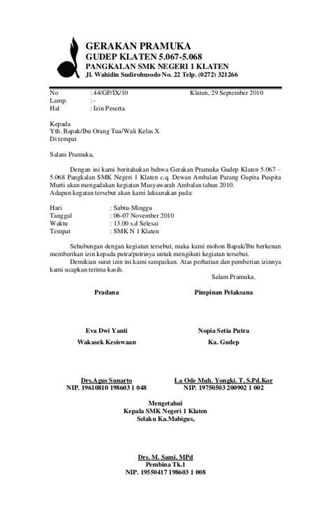 poposal dan surat surat musamba 2010