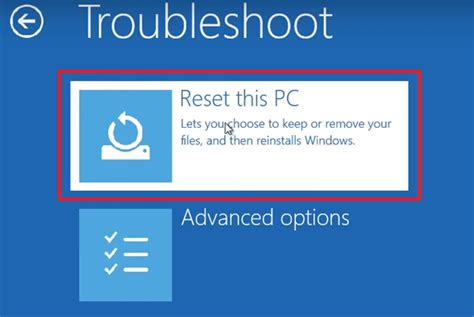 hp resetting your pc 1 3 ways to reset acer laptop to factory settings without