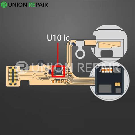 lon home button flex  ic replacement fixture