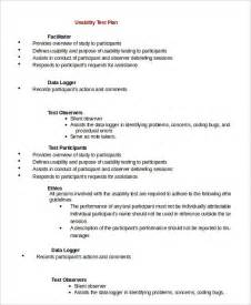 Template For Test Plan by Test Plan Template 11 Free Word Pdf Documents