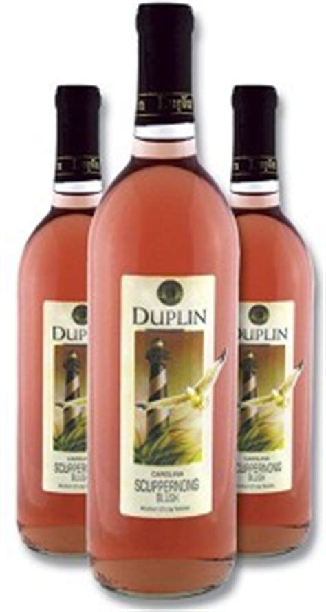 duplin winery scuppernong blush by duplin winery other white