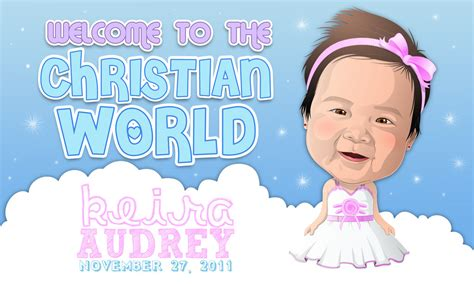 layout design for christening my baby s christening by akosimadz on deviantart