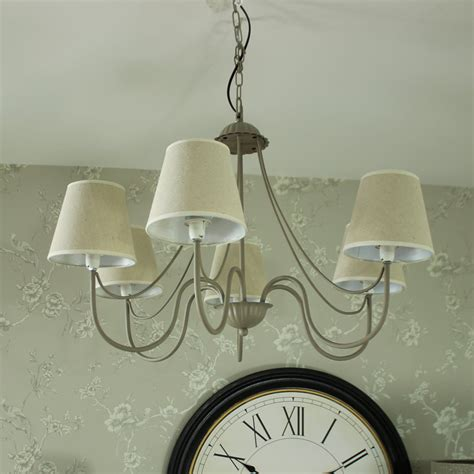 6 Arm Ceiling Light by Large Grey 6 Arm Pendant Ceiling Light Melody Maison 174