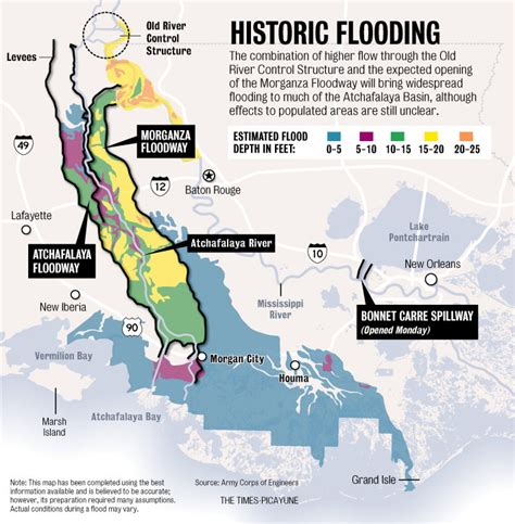 Louisiana Flood Maps | louisiana flood prediction map american blues scene magazine