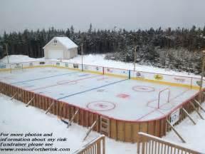 Backyard Ice Skating Triyae Com Lighting For Backyard Hockey Rink Various