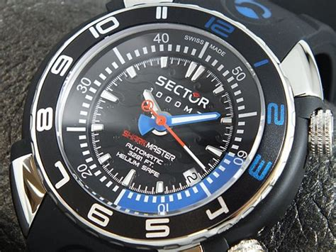 sector dive master sector marine shark master 1000m review