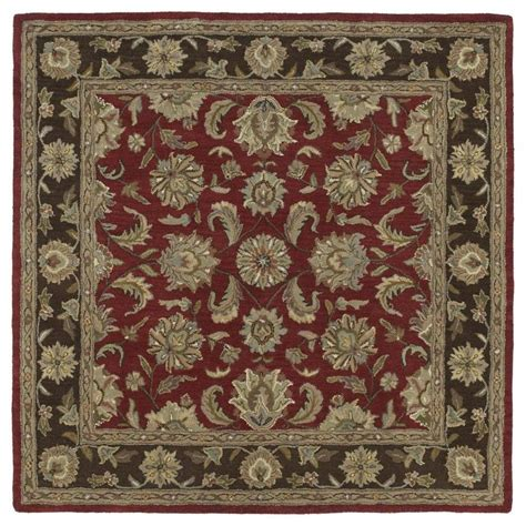nature pattern area rugs shop kaleen tara square salsa square indoor handcrafted