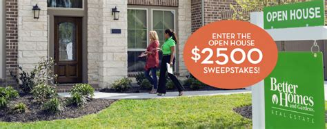 Public House Sweepstakes - bhg real estate national open house sweepstakes month