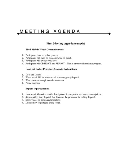 meeting outline template marine electrical engineer cover