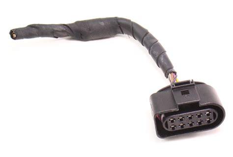 rear door latch module wiring plug pigtail   vw phaeton