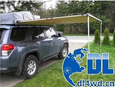 retractable cer awning 4x4 accessories retractable car side awning aw 1