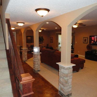 basement support poles basement columns design ideas pictures remodel and decor page 14 basement likes