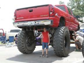 you what they say about guys with big trucks cars